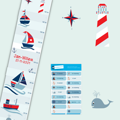 Groeimeter Nautical