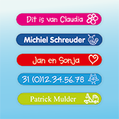 Mini Labels Kleur