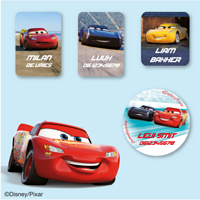 Disney Cars3 Kledingstickers