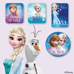 Frozen Kledingstickers